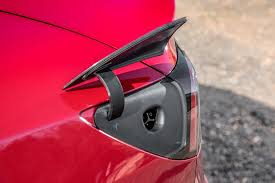 tesla model 3 dual charging ports on the model 3 tesla