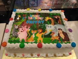jungle theme cake 81c bakery cafe jungle theme cake for a boy