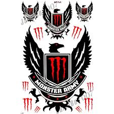 monster energy stickers cars sticker creations