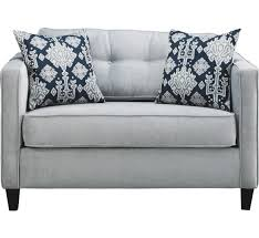 2 piece sectional sofa with french provincial plus twin sleeper