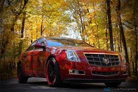 cadillac cts custom paint 2008 cadillac cts w custom painted color matched