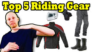 motorcycle equipment top 5 motorcycle riding gear essentials with pricing youtube