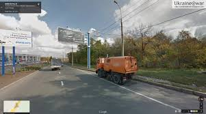 Google Maps Truck Routes by Putin War Another Photo Of The Mh17 Buk Transport Leads To The