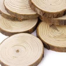 wood centerpieces 50pcs diy wedding centerpieces tree bark crafts wood slices discs