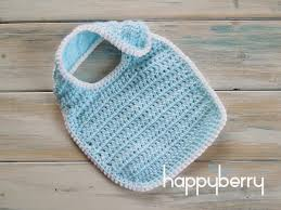 newborn pattern video happy berry crochet how to crochet a newborn baby bib yarn scrap