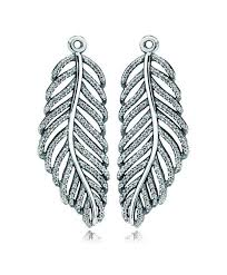 feather earrings online cheap authentic pandora feather earrings online outlet sale