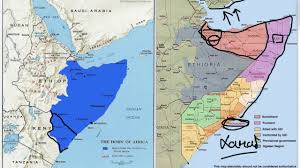 Horn Of Africa Map by Where Are The Somalis A Quick Tour Of Somalis In The Horn Of