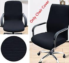Desk Chair Arm Covers Trycooling Modern Simplism Style Chair Covers Cotton Office