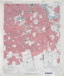 4 Corner States Map by Old Houston Maps Houston Past