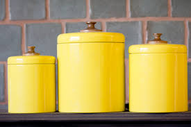 vintage canisters for kitchen yellow kitchen canisters 28 images yellow kitchen canisters