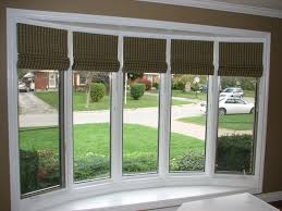 Best Blinds For Bay Windows Silk Panel Blinds U2013 An Elegant Way To Dress Bay Windows U2013 Day