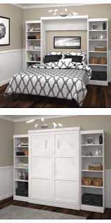 Murphy Bed Bookshelf Bedroom Awesome Costco Wall Beds Creates A More Functional Living