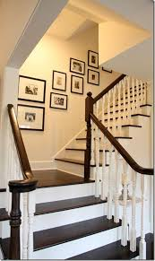 stairs wall decoration decorating home ideas cute lovely home