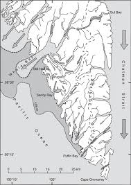 Southeast Alaska Map by Possible Refugia In The Alexander Archipelago Of Southeast Alaska