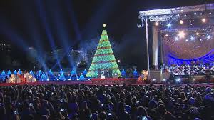 national tree lighting lights decoration