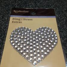 rhinestone letter stickers recollections rhinestone scrapbooking stickers ebay