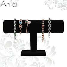 aliexpress buy velvet bracelet organizer rack bracelet