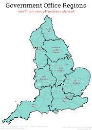 Counties In England Map by What Would The Regions Of England Look Like In A Federal Uk