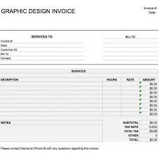 free graphic design web invoice template excel pdf word doc