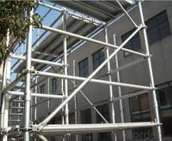 buy ring lock scaffolding reliable for q345 grade steel material