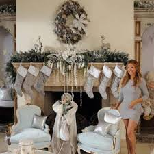 Silver Reindeer Decorations For Christmas by Homefurnishings Com Brooke Burke U0027s Winter White Holiday Decor