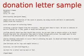 donation letter request sample fundraising for donations free word