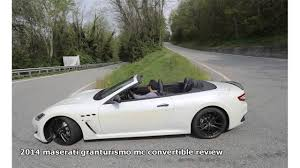 new maserati convertible new esm 2015 maserati granturismo mc convertible review youtube