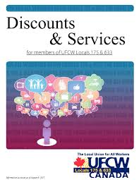 member discounts ufcw locals 175 u0026 633 ufcw locals 175 u0026 633