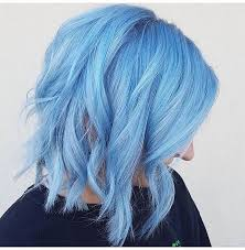 light blue hair dye powder and smoke lindsayb202 is the artist pulp riot is the