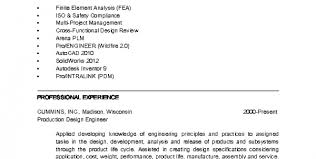 Chemical Engineer Resume Template Entry Level Mechanical Engineering Technician Jobs Mechanical