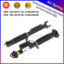 mercedes ads 2pcs left right rear air shock absorbers with ads for mercedes