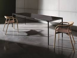 Table Ronde Design Extensible by Glass And Aluminium Tables Archiproducts