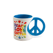Extra Large Coffee Mugs by Peace And Love Extra Large Coffee Mug Holds 20 Oz Bigmouth Inc