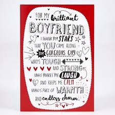 valentines day cards for him s day card boyfriend thank my card factory