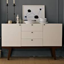 modern buffet white west elm