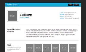 Best Resume Website Templates Html Resume Template 11 Split Simple Html Resume Website Template