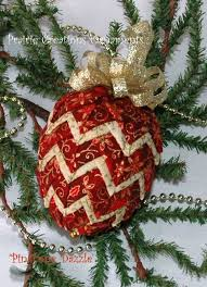best 25 quilted fabric ornaments ideas on diy quilted