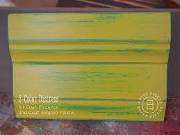 2 color distress with chalk paint suite pieces