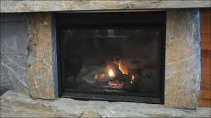 stone fireplace hearth and mantel youtube