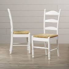 Ladder Back Dining Chairs Ladder Back Kitchen Dining Chairs You Ll Wayfair