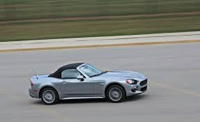 2017 fiat 124 spider manual review u2013 all cars u need