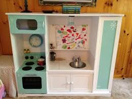 tv cabinet kids kitchen tv stand turned into play kitchen