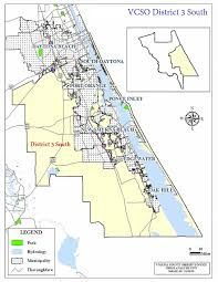 Map Of Daytona Beach District 3 South Map Jpg