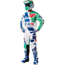 motocross gear on sale 2018 fox racing 180 sayak green motocross gear kit combo enduro