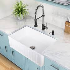 Cheap Farmhouse Kitchen Sinks Apron Front Kitchen Sinks For Less Overstock