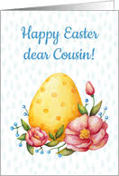 happy easter dear easter cards for cousin from greeting card universe