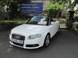 white audi a4 convertible for sale 2008 08 audi a4 2 0 tdi s line convertible the car