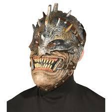 metal halloween decorations warrior mask
