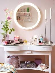 Lighted Desk Vanities Makeup Vanity Desk With Lighted Mirror Makeup Vanity
