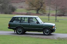 perhaps a green range rover classic 1995 facelift for tooling